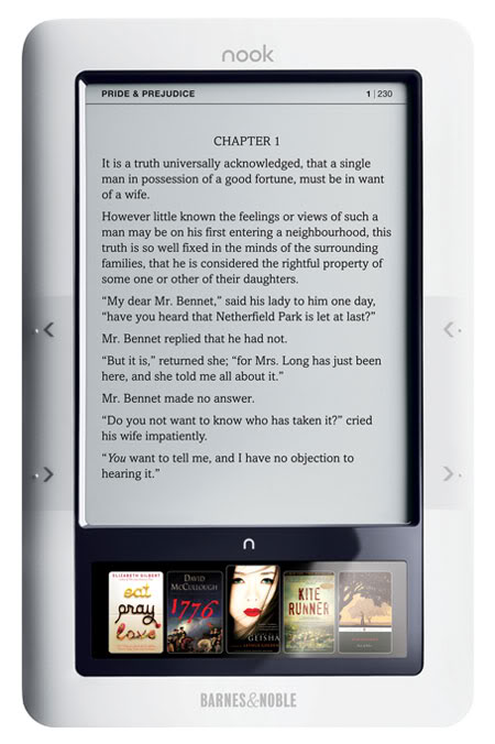 nook eReader